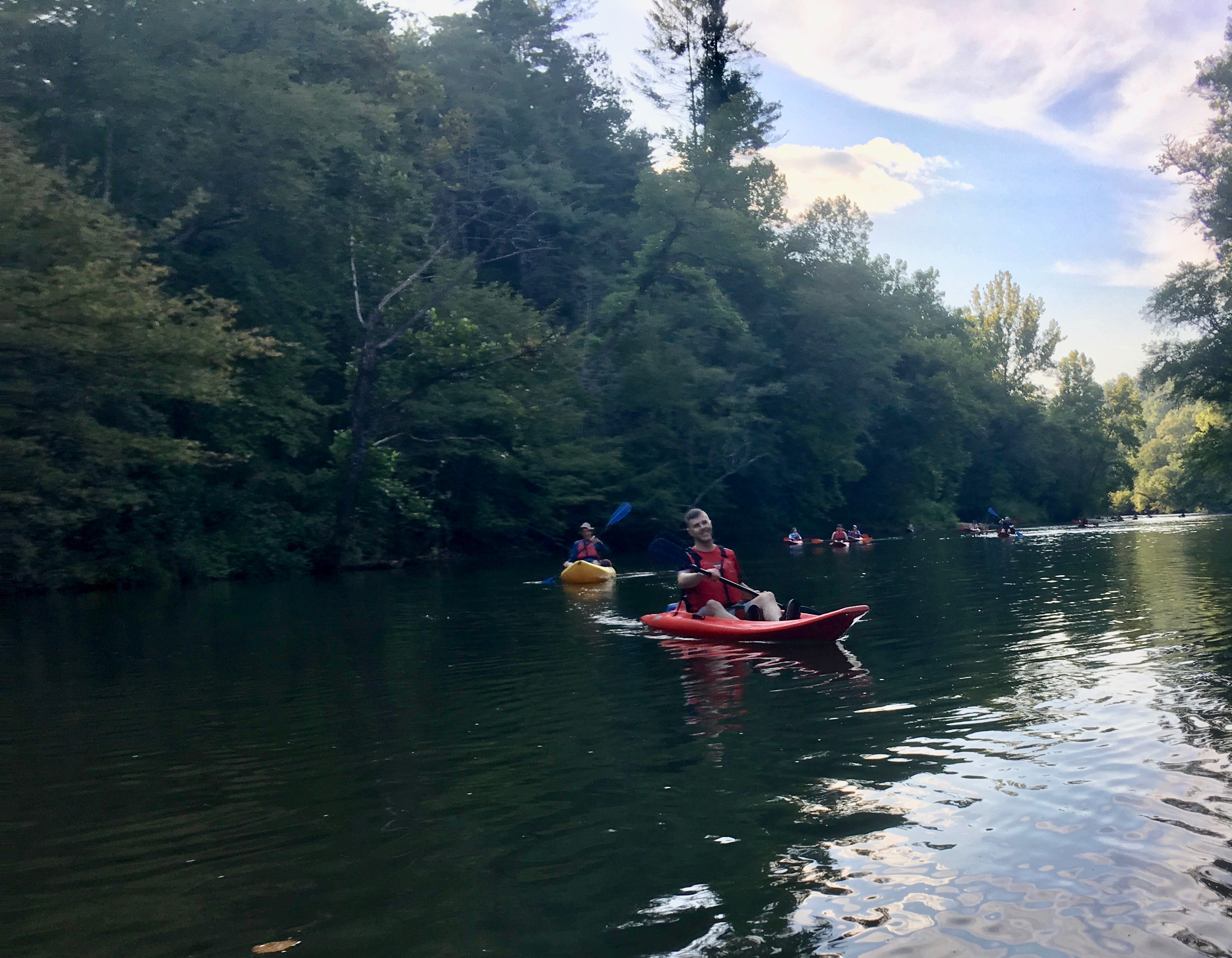 Chestatee evening paddle 3