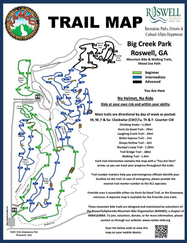 RAMBO BC Trail Map