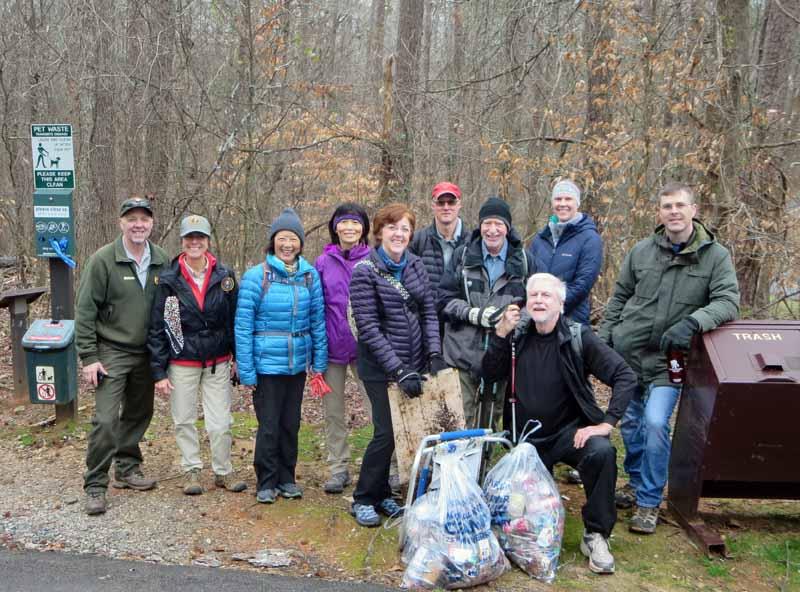 Hike - Learn - Protect @ Island Ford 01-18-20